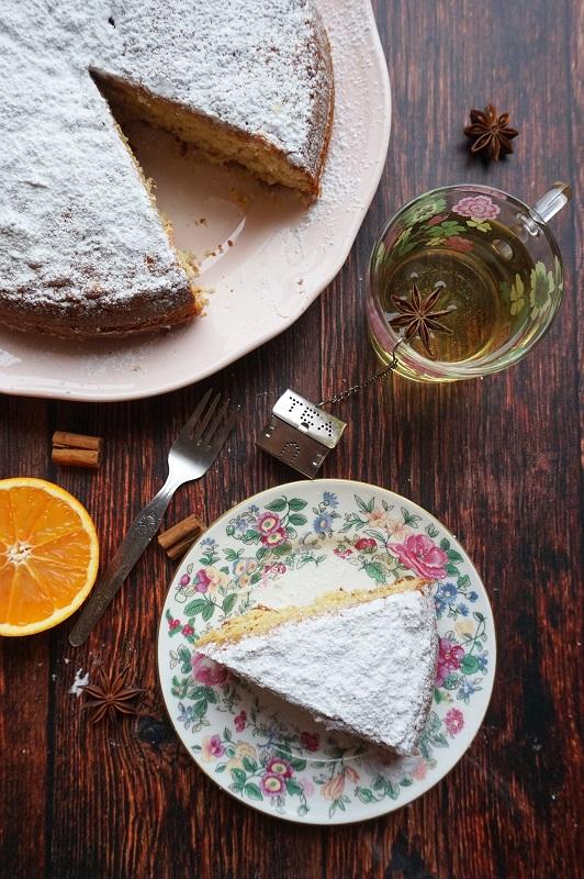 torta arance e mandorle