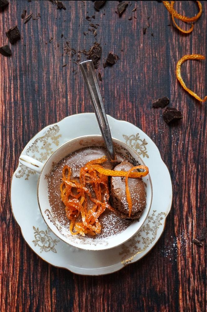 mousse al cioccolato fondente ricetta