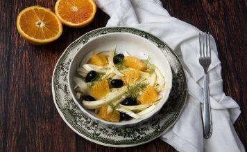 insalata arance finocchio ricetta