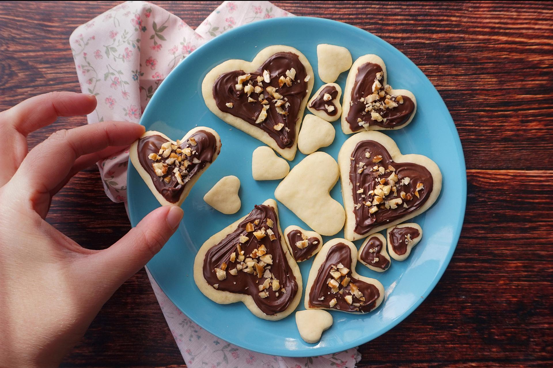 Biscotti di San Valentino ricetta
