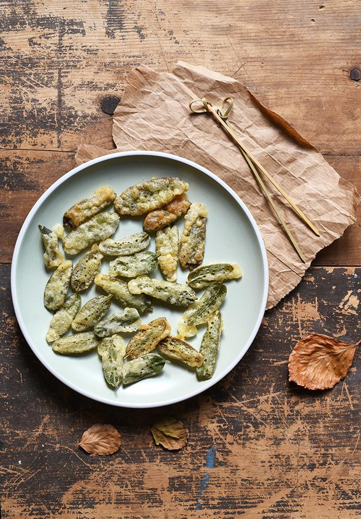 Ricetta salvia in tempura