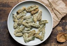 salvia in tempura