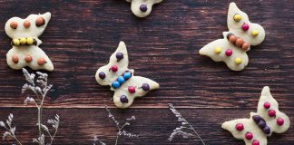 Biscotti con pasta frolla all'olio
