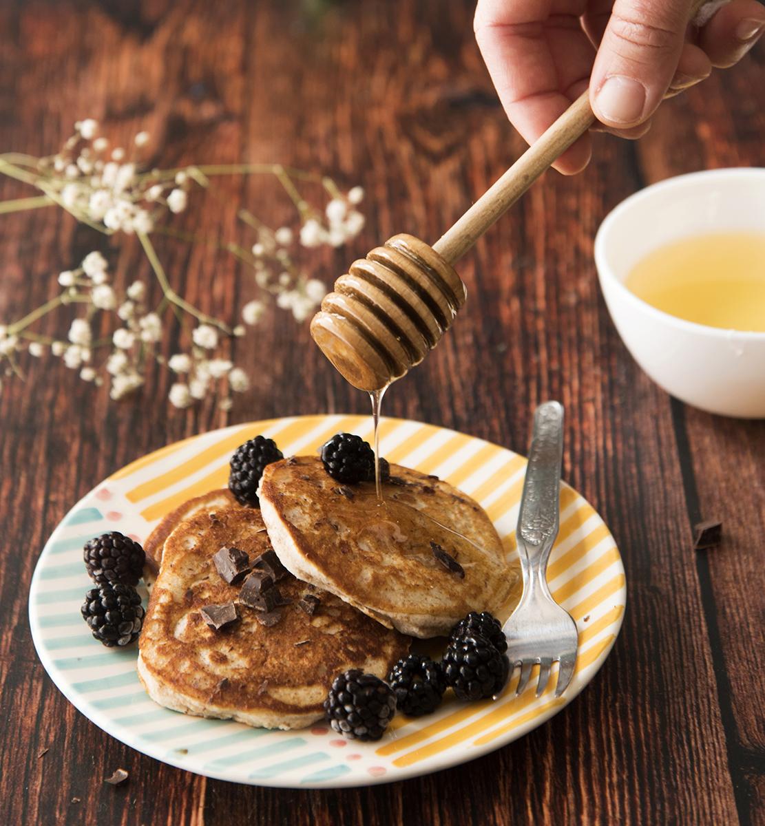 pancake integrali ricetta light