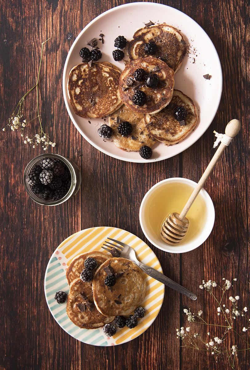 pancake integrali ricetta