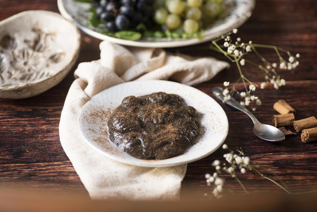 ricetta mostarda di uva siciliana
