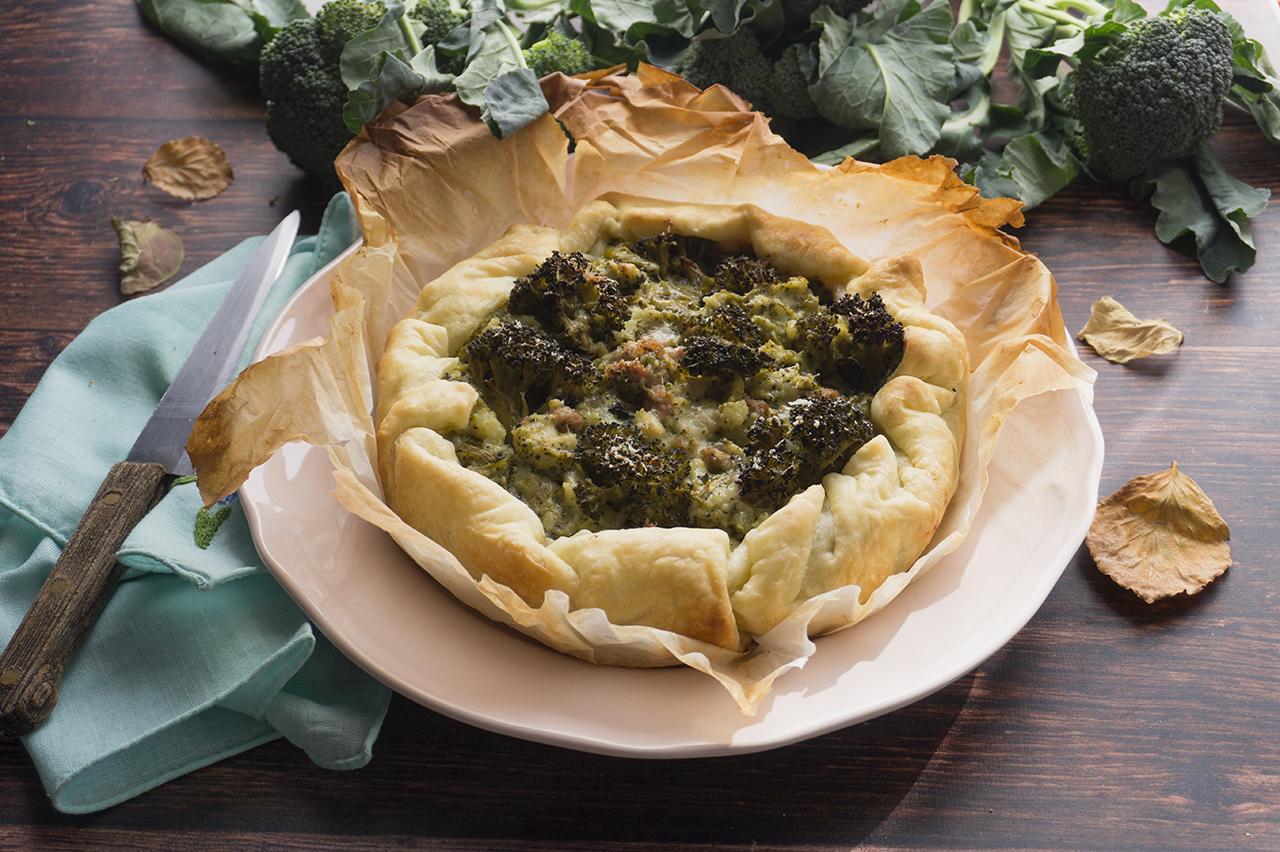 tortino ai broccoli ricetta