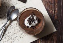 Mousse di cioccolato all'acqua