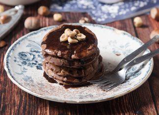 Pancake proteici al cacao