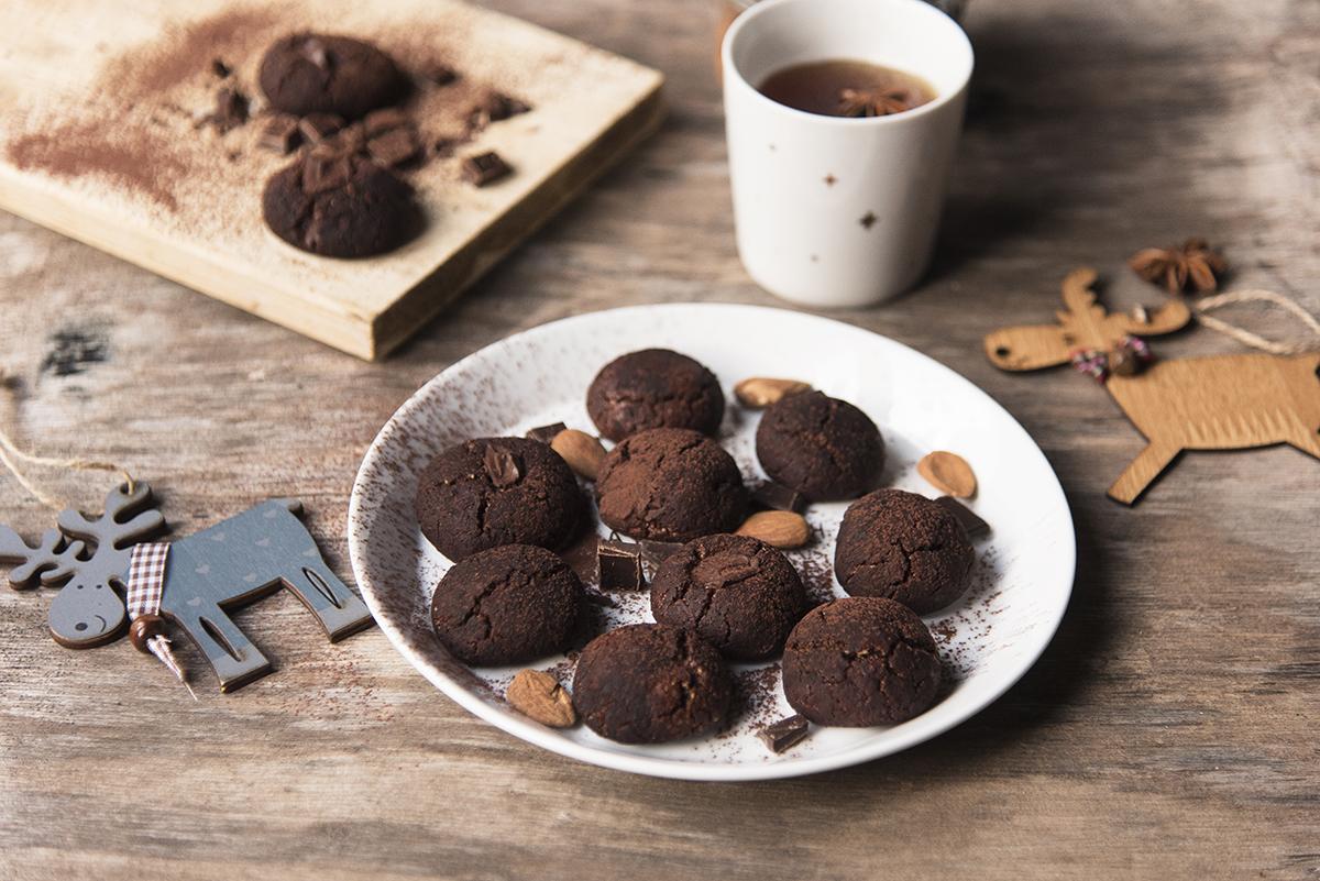 biscotti cioccolato e tahina