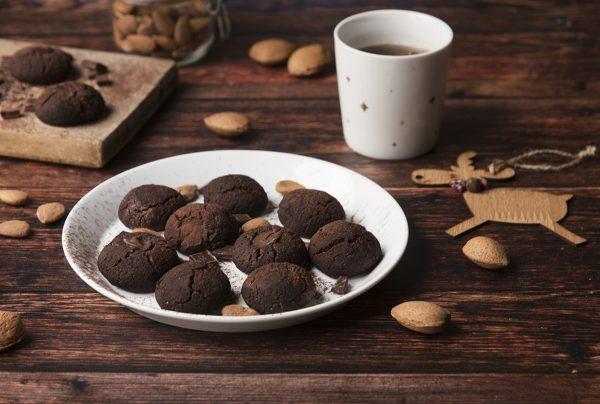 Ricetta biscotti con cioccolato e tahina