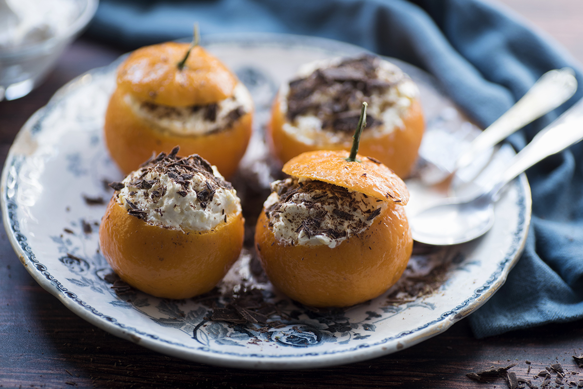 Spuma di mandarini ricetta